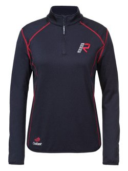 Women's fleece zip neck shirt Rukka KIMB-R